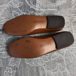 Lauren Ralph Lauren Shoes - Lauren by Ralph Lauren Brooke monogram loafer sz10